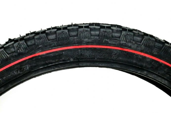 Raleigh Chopper Rear Bike Tyre 20 X 2.125 Redline Sidewall 20""